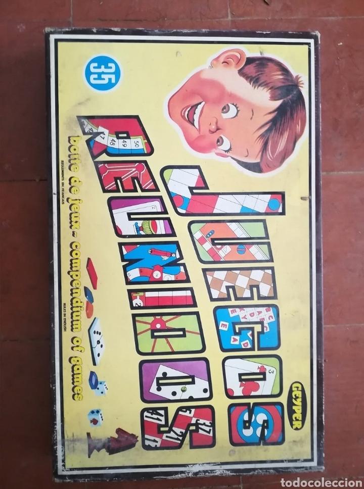 JUEGOS REUNIDOS (Juguetes - Juegos - Juegos de Mesa)