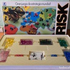 Juegos de mesa: RISK: GRAN JUEGO DE ESTRATEGIA MUNDIAL - 1982. Lote 195362433