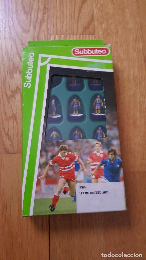 779 LEEDS UNITES 2ND - FUTBOL DE MESA - SUBBUTEO - (Juguetes - Juegos - Juegos de Mesa)