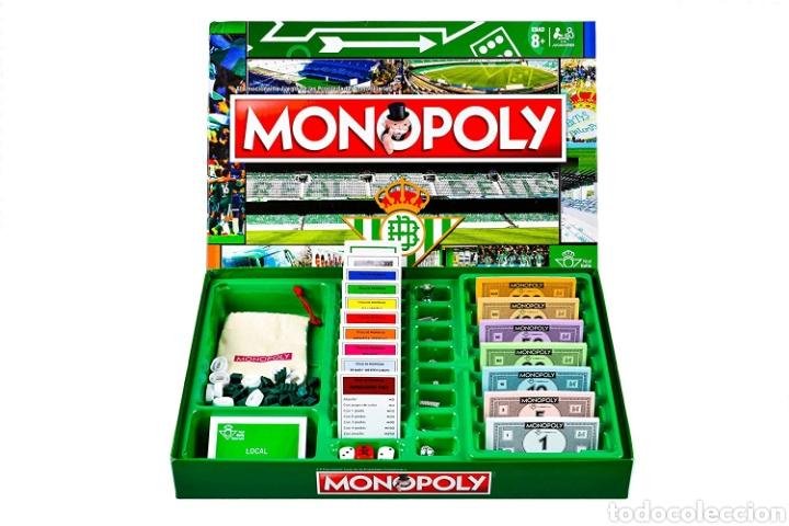 Juegos de mesa: Juego de mesa Monopoly Real Betis Balompie nuevo - Foto 2 - 195362663