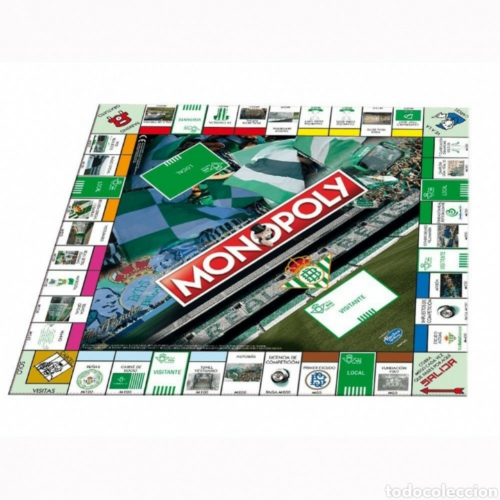 Juegos de mesa: Juego de mesa Monopoly Real Betis Balompie nuevo - Foto 3 - 195362663