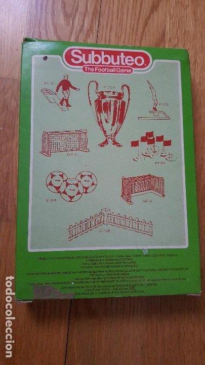 Juegos de mesa: 457 ARGENTINA - FUTBOL DE MESA - SUBBUTEO - - Foto 2 - 195362740