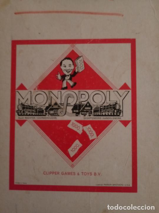 MONOPOLY - CLIPPER GAMES TOYS B.V. - PARKER BROTHERS USA - VER DESCRIPCIÓN (Juguetes - Juegos - Juegos de Mesa)