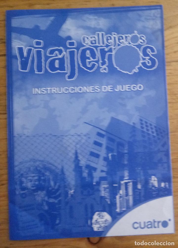 Juegos de mesa: CALLEJEROS VIAJEROS - CUATRO - FALOMIR JUEGOS - COMPLETO - Foto 3 - 195370885