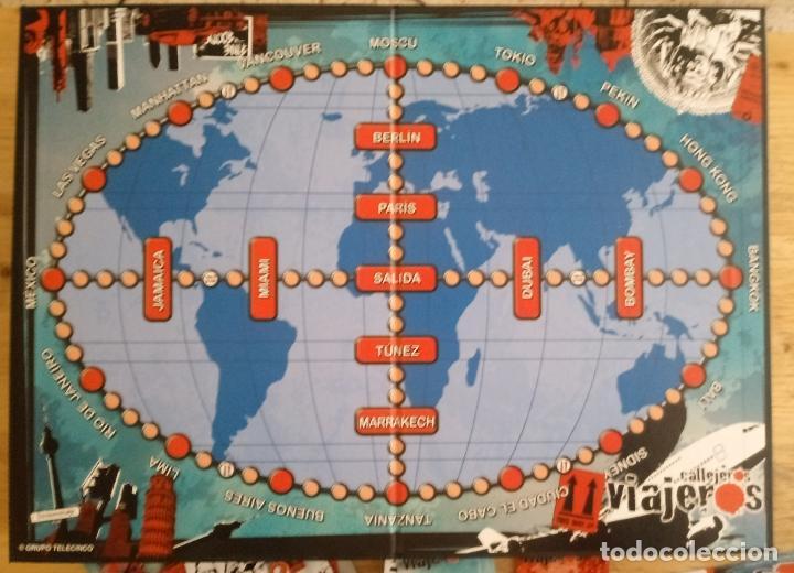 Juegos de mesa: CALLEJEROS VIAJEROS - CUATRO - FALOMIR JUEGOS - COMPLETO - Foto 5 - 195370885