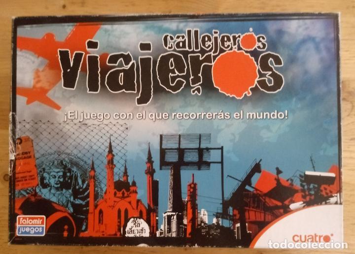 CALLEJEROS VIAJEROS - CUATRO - FALOMIR JUEGOS - COMPLETO (Juguetes - Juegos - Juegos de Mesa)