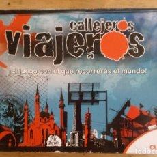 Juegos de mesa: CALLEJEROS VIAJEROS - CUATRO - FALOMIR JUEGOS - COMPLETO. Lote 195370885