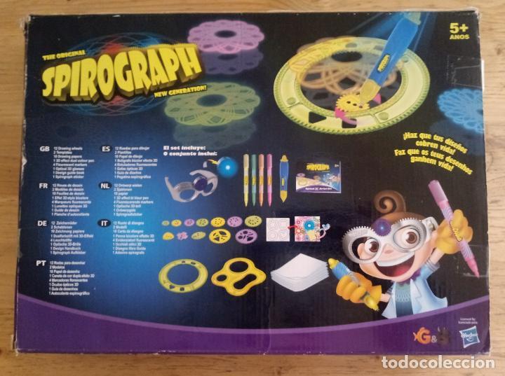 Juegos de mesa: SPIROGRAPH - OPTICAL 3D ARTIST SET - HAY MAS PIEZAS - VER FOTOS ADICIONALES - Foto 5 - 195372578