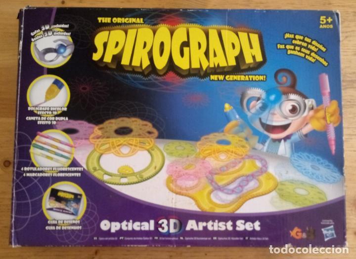 SPIROGRAPH - OPTICAL 3D ARTIST SET - HAY MAS PIEZAS - VER FOTOS ADICIONALES (Juguetes - Juegos - Juegos de Mesa)