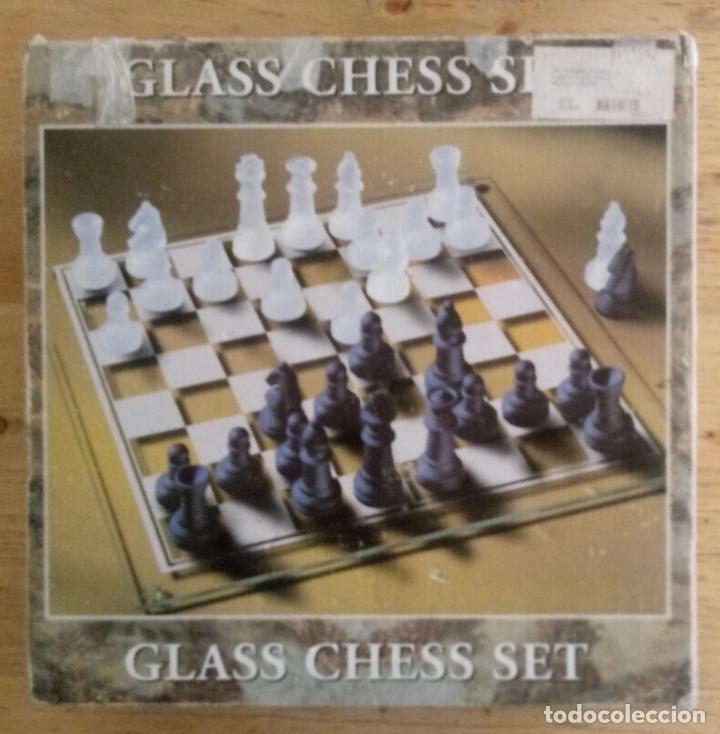 Juegos de mesa: GLASS CHESS SET - JUEGO AJEDREZ DE VIDRIO - Foto 6 - 195373100