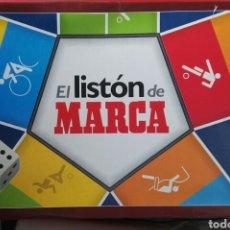 Juegos de mesa: EL LISTÓN DE MARCA JUEGO DE MESA PREGUNTAS. Lote 195373137