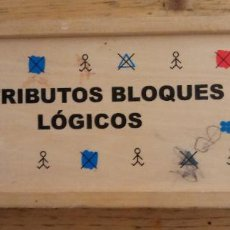 Juegos de mesa: ATRIBUTOS BLOQUES LÓGICOS - 22 PIEZAS - ANDREU TOYS. Lote 195383928
