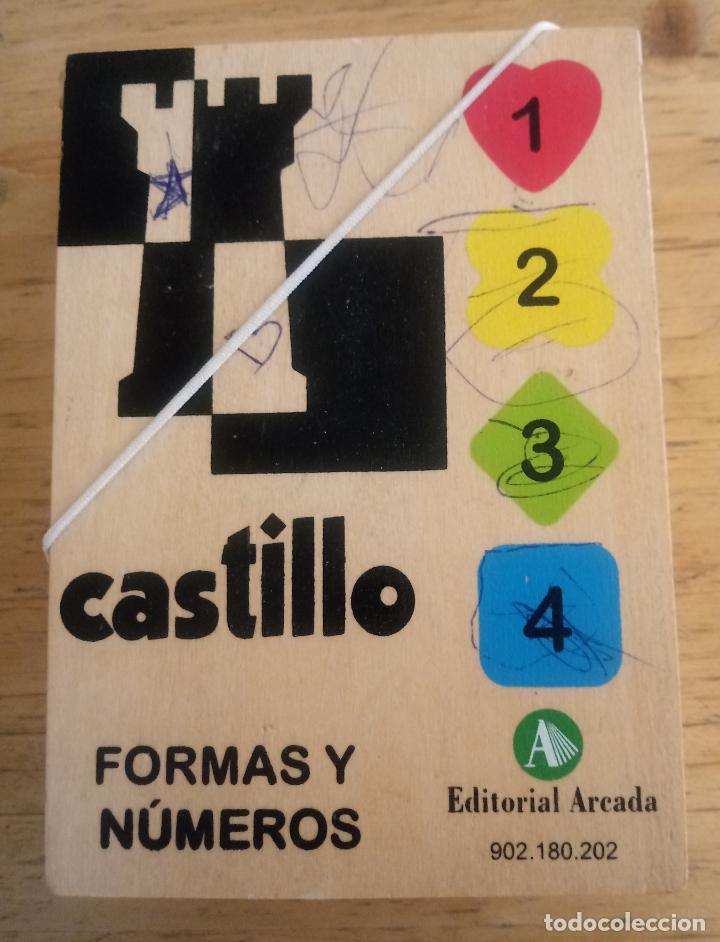 Juegos de mesa: FORMAS Y NÚMEROS - CASTILLO - EDITORIAL ARCADA - Foto 3 - 195384275