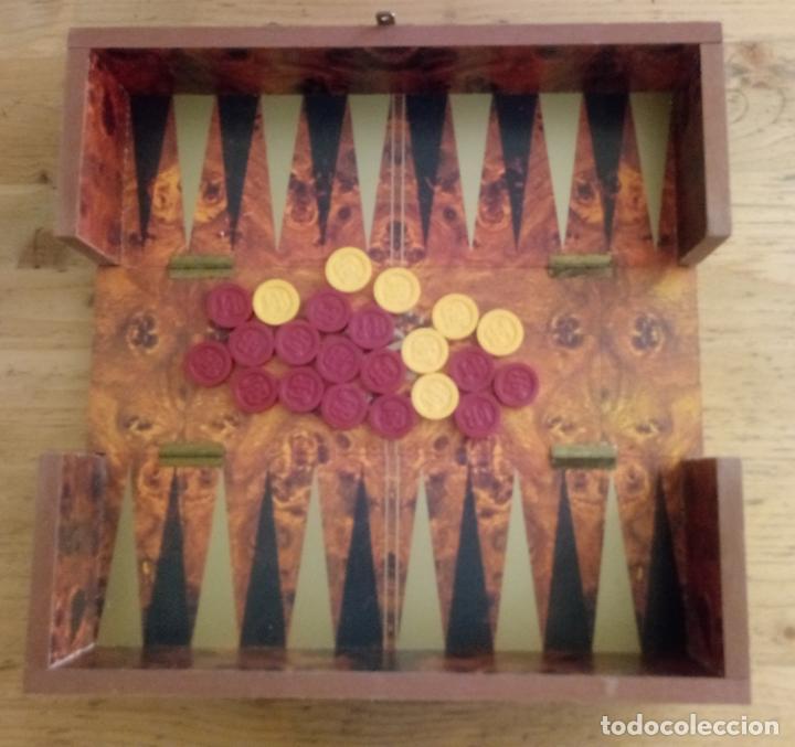 Juegos de mesa: CAJA RESERVA 15 AÑOS J&B - BACKGAMMON - SIN BOTELLA - 29 x 11 CMS - Foto 2 - 195385190