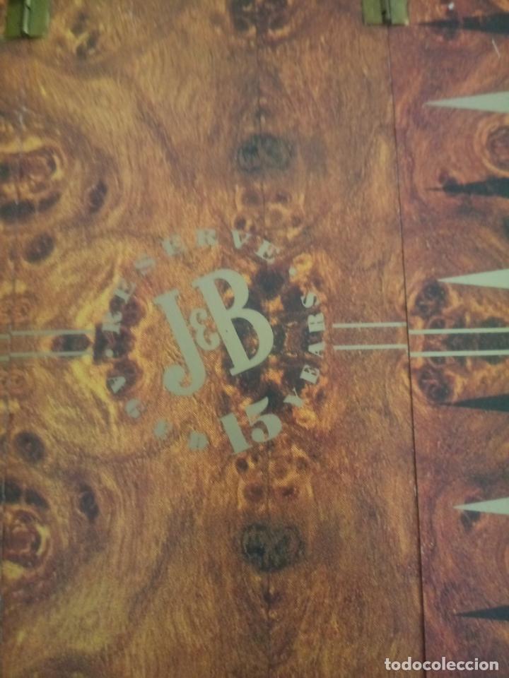 Juegos de mesa: CAJA RESERVA 15 AÑOS J&B - BACKGAMMON - SIN BOTELLA - 29 x 11 CMS - Foto 4 - 195385190