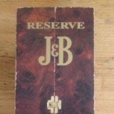 Juegos de mesa: CAJA RESERVA 15 AÑOS J&B - BACKGAMMON - SIN BOTELLA - 29 X 11 CMS. Lote 195385190