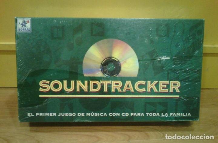 JUEGO DE MESA - SOUNDTRACKER - BORRAS - RETRACTILADO PRECINTADO - (FALOMIR JUEGOS NAC PARKER DEVIR) (Juguetes - Juegos - Juegos de Mesa)