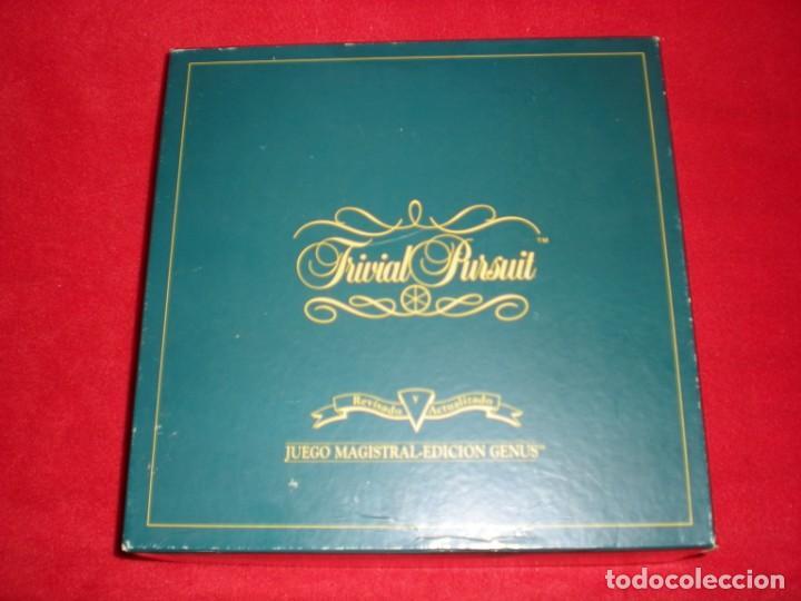 TRIVIAL PURSUIT AÑO 1989 EDICIÓN GENUS (Juguetes - Juegos - Juegos de Mesa)