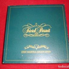 Juegos de mesa: TRIVIAL PURSUIT AÑO 1989 EDICIÓN GENUS. Lote 195389117