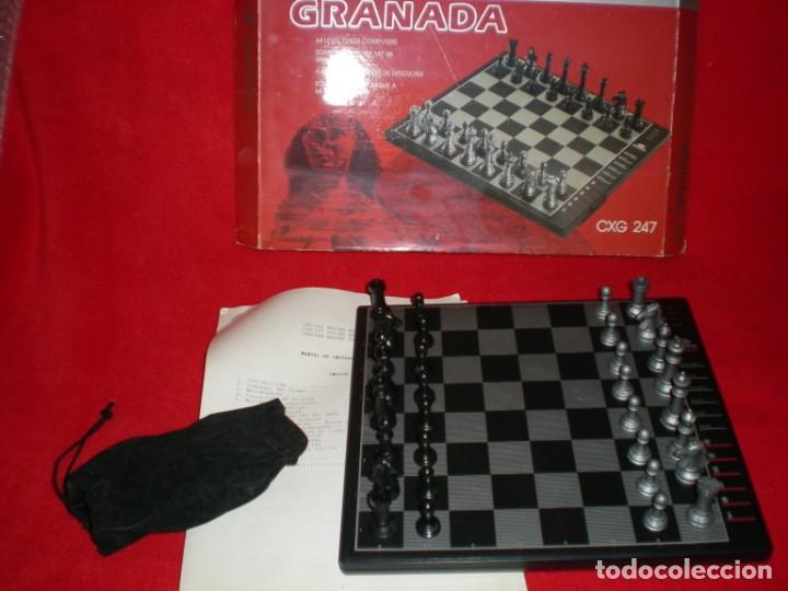 AJEDREZ ELECTRÓNICO SPHINX GRANADA CXG 247 (Juguetes - Juegos - Juegos de Mesa)