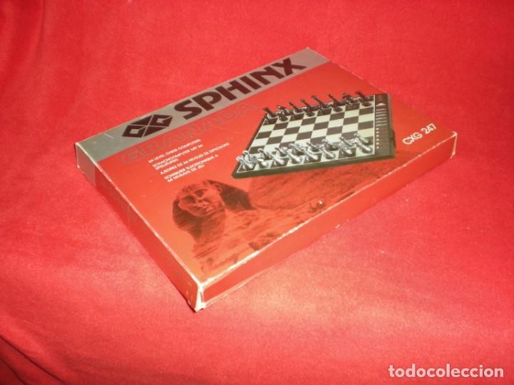 Juegos de mesa: Ajedrez electrónico Sphinx Granada Cxg 247 - Foto 3 - 195389318