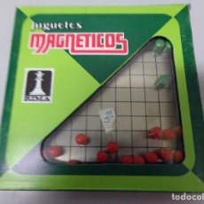 Juegos de mesa: JUGUETES MAGNETICOS RIMA ALINEAR. Lote 195392615