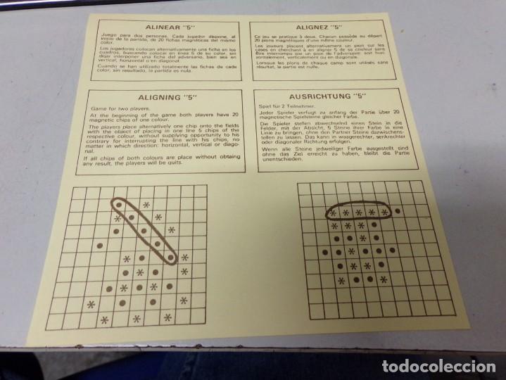 Juegos de mesa: juguetes magneticos rima ALINEAR - Foto 4 - 195392615