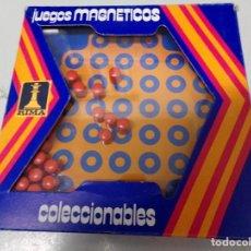 Juegos de mesa: JUGUETES MAGNETICOS RIMA COLECCIONABLES SOLITARIO. Lote 195393285