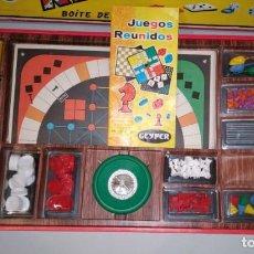Juegos de mesa: JUEGOS REUNIDOS 25. GEYPER. FABRICADO EN ESPAÑA. POCO USO. . Lote 195404372