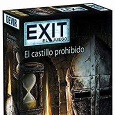 Juegos de mesa: JUEGO DE MESA EXIT: EL CASTILLO PROHIBIDO-NUEVO. Lote 195410313