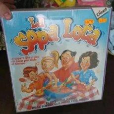 Juegos de mesa: OCASION COLECCIONISTAS JUEGO PRECINTADO 1992 MARCA DISET LA SOPA LOCA JUGUETE NUEVO. Lote 195461780