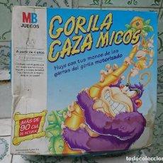 Juegos de mesa: RAREZA COLECCIONISTAS ANTIGUO JUEGO DE MESA SIN USO GORILA CAZA MICOS 1996 MB VER FOTOS. Lote 195468197