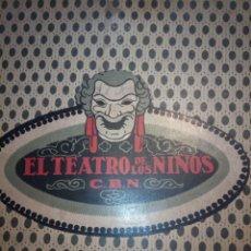 Jeux de table: TEATRO DE LOS NIÑOS. Lote 195469872