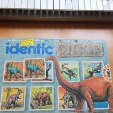Juegos de mesa: JUEGO DE MEMORIA IDENTIC DINOS. Lote 195473512