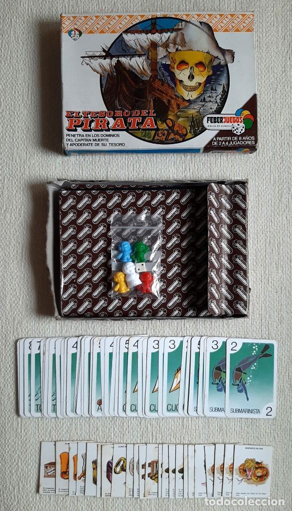 Juegos de mesa: Antiguo juego de mesa El tesoro del pirata de Feber - Foto 6 - 195505111