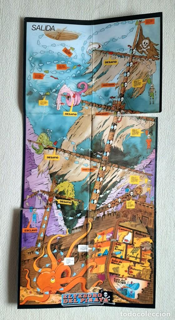 Juegos de mesa: Antiguo juego de mesa El tesoro del pirata de Feber - Foto 8 - 195505111
