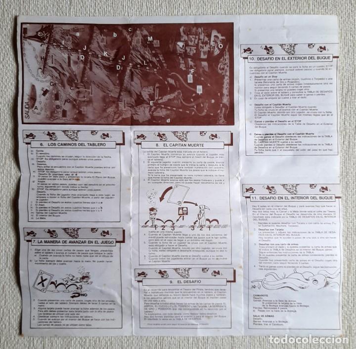 Juegos de mesa: Antiguo juego de mesa El tesoro del pirata de Feber - Foto 10 - 195505111