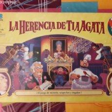 Juegos de mesa: LA HERENCIA DE TIA AGATA. Lote 207133776