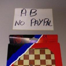 Juegos de mesa: JUEGOS MAGNÉTICOS MARIGO BARCELONA DAMAS CON CAJA. Lote 196123711