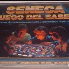 Juegos de mesa: JUEGO DE MESA - SENECA EL JUEGO DEL SABER - MB JUEGOS - PRECINTADO RETRACTILADO (FALOMIR NAC PARKER). Lote 196337650