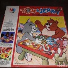 Juegos de mesa: JUEGO PARCHIS DE TOM Y JERRY .METRO GOLDWYN MAYER INC 1979. MB FRANCE. Lote 197115445