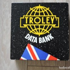 Juegos de mesa: JUEGO DE MESA -TROLEY DATA BANK - ENGLISH - PLAZA & JANES. Lote 197217831