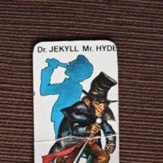 Juegos de mesa: JUEGO DE MESA - MISTERIO EDICIÓN ESPECIAL MINI - CEFA - CARTA MONSTRUO: DR. JEKYLL MR. HYDE. Lote 197229072