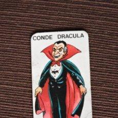Juegos de mesa: JUEGO DE MESA - MISTERIO EDICIÓN ESPECIAL MINI - CEFA - CARTA MONSTRUO: CONDE DRÁCULA. Lote 197229213