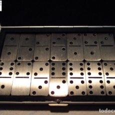 Juegos de mesa: JUEGO DE DOMINO DE BOLSILLO - ESTUCHE METÁLICO - NUEVO. Lote 197389080