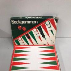 Juegos de mesa: JUEGO DE MESA BACKGAMMON. Lote 197421580