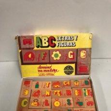 Juegos de mesa: ABC LETRAS Y FIGURAS. Lote 197421978