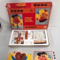 Juegos de mesa: LOS PICAPIEDRA. Lote 197422497