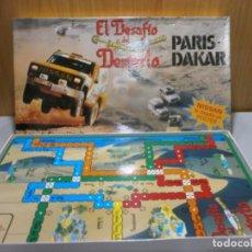 Juegos de mesa: JUEGO EL DESAFIO DEL DESIERTO PARIS DAKAR COMPLETO BUEN ESTADO. Lote 197438093