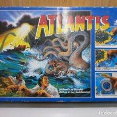 Juegos de mesa: JUEGO ATLANTIS DE BORRAS AÑO 1986 COMPLETO BUEN ESTADO . Lote 197439611